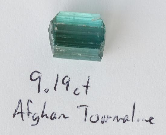 Afghan Blue Tourmaline Roug