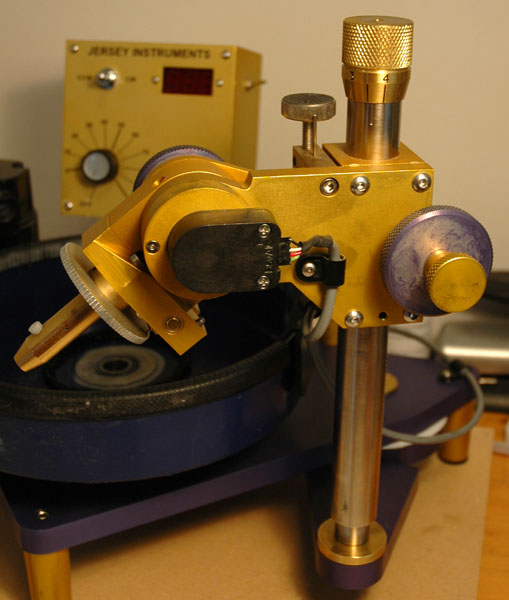 Omni Faceting Head Details | The Omni-E Faceting Machine