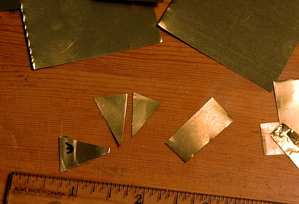 Omni Mast Alignment Brass Shims