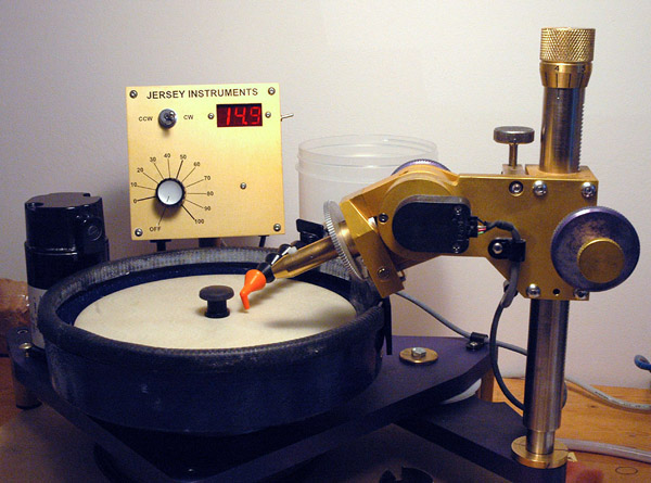 The Omni-e Faceting Machine by Jersey Instruments